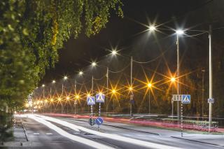 Tartu has paid a lot of attention to the modernisation of the urban lighting system.